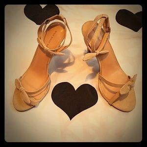 Tan NWOT Who What Wear Heel Size 9 1/2